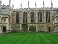 牛津大学校园风景