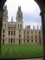 牛津大学校园风光