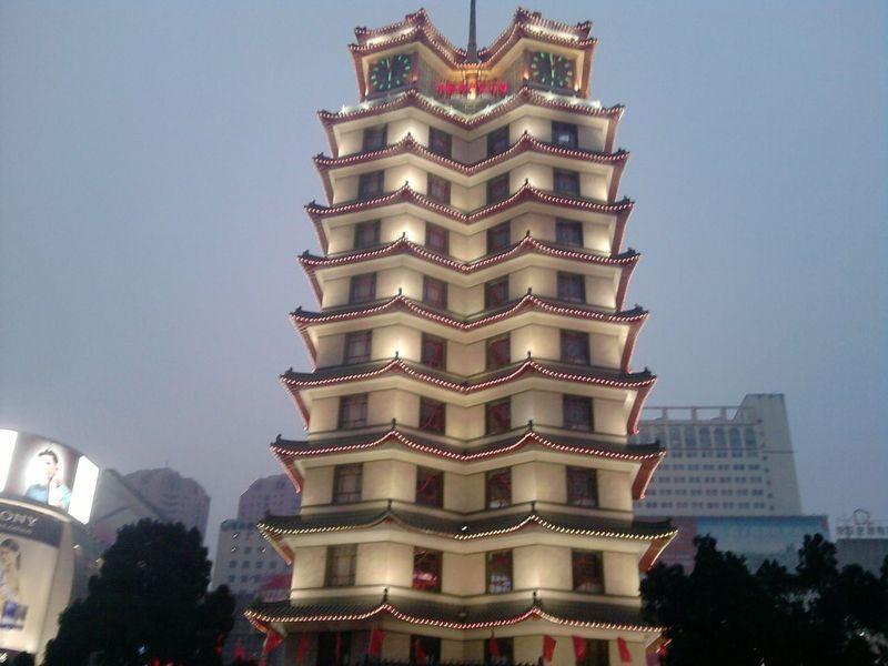 """郑州市的地标建筑郑州二七纪念塔当选""""河南当代最美建筑""""榜首"""