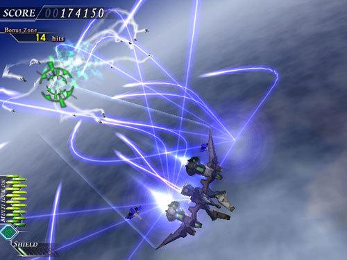 创意 这款超华丽又精致的飞机射击游戏最大特色就莫过於它那特殊