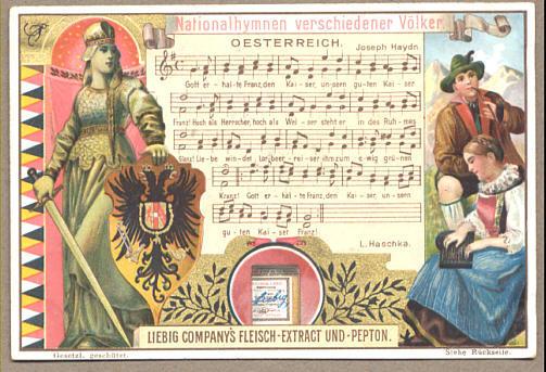 奥地利帝国国歌乐谱2