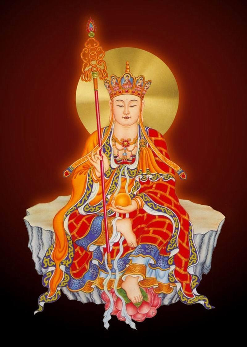 地藏王菩萨图片_地藏王菩萨像高清大图