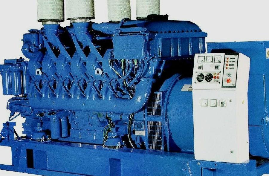 柴油发电机组电喷工作原理高清图片