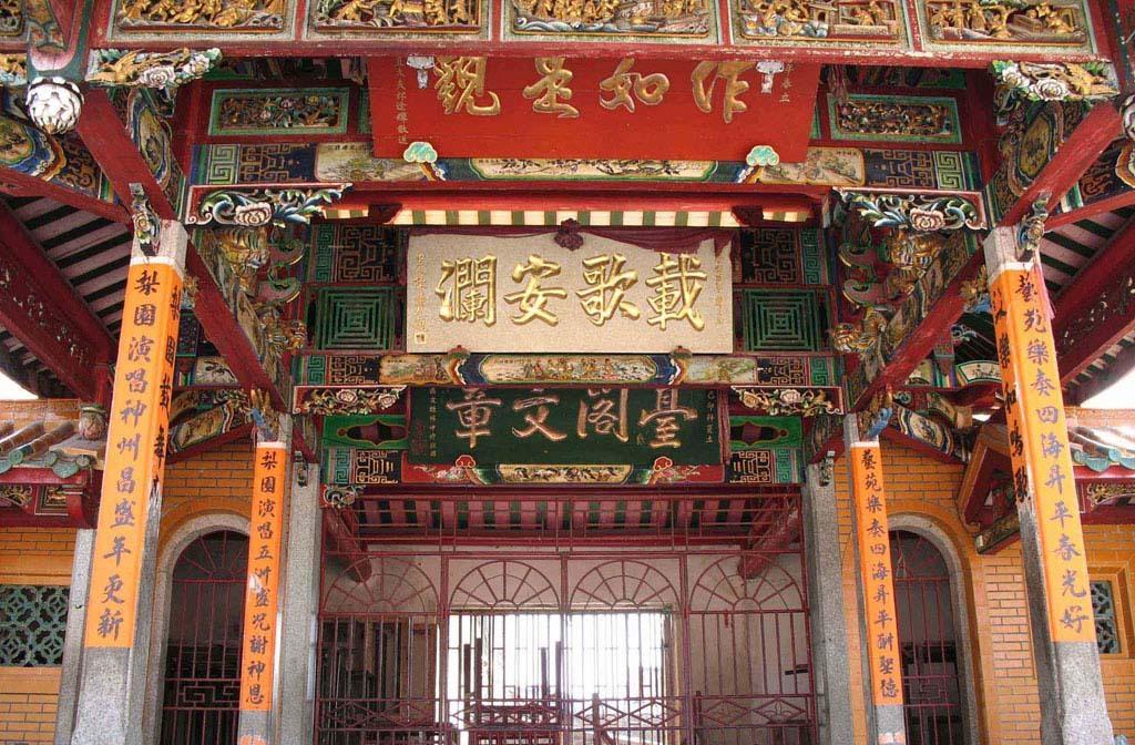 天后宫肇灵于福建省莆田市湄洲岛,追根溯源,博美天后宫就是湄洲妈祖的