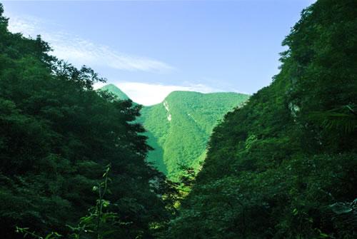 老君山风景区位于海灯故里----四川省江油市重华镇