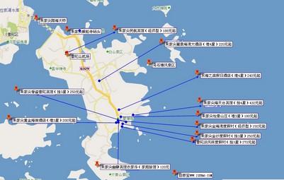 朱家尖国家级风景名胜区位于浙江省舟山群岛东南部,与相距1.