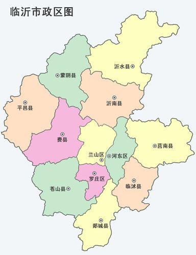 为家乡山东手绘地图