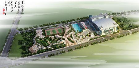 海珠体育中心用地规划范围北起环城高速以南30米规划辅道,南至环岛路