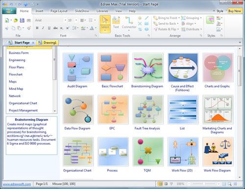 流程图制作软件是一款类似visio的
