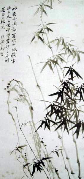 郑燮还写过许多歌颂竹子的诗