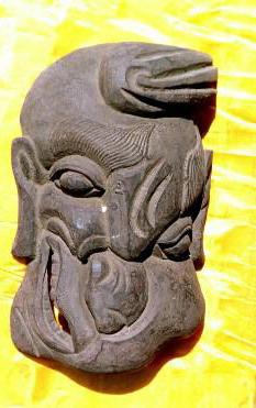 明代木雕脸谱