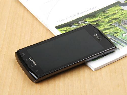 三星i897是一款造型时尚的3g智能手机