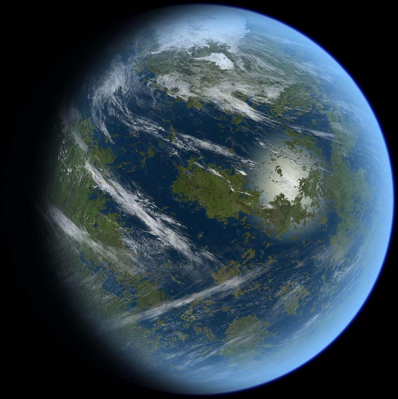 地球金星木星围着太阳图片