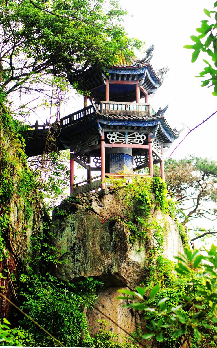 广西旅游------桂平西山