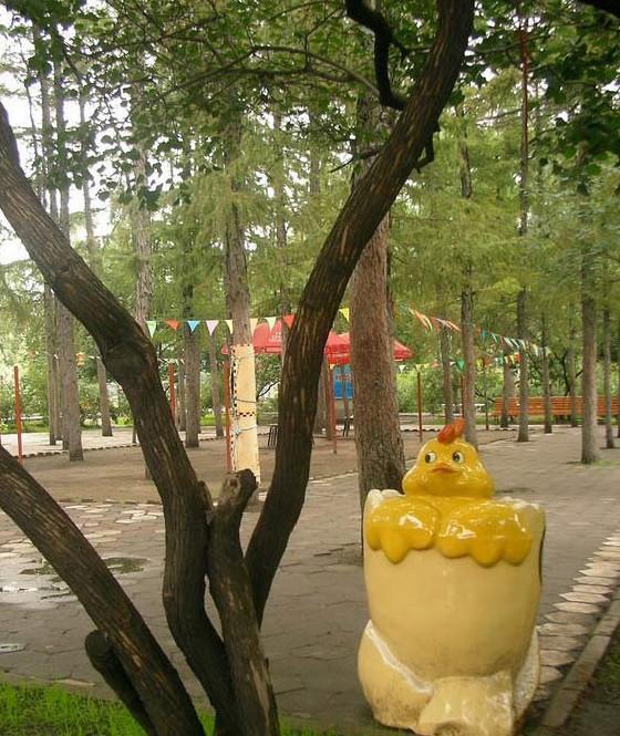 哈尔滨儿童公园是哈尔滨市唯一一座为广大少年儿童服务的专业性公园.