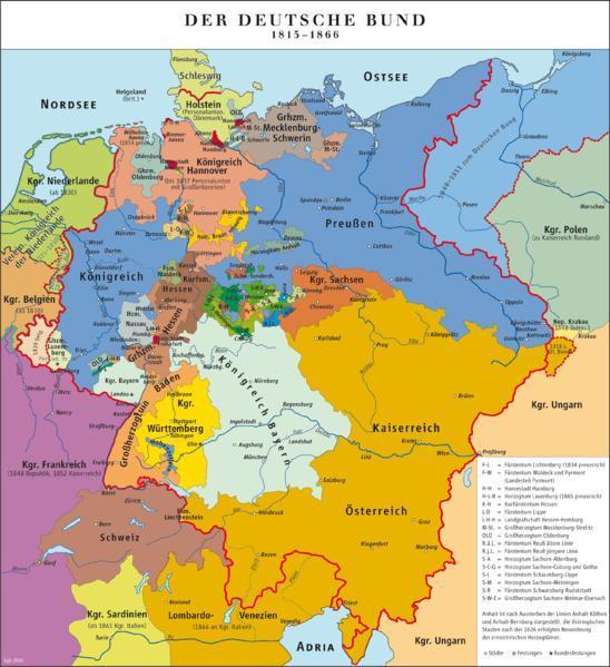 在首相梅特涅领导下,位于中欧的奥地利帝国在欧洲大陆的地位举足轻重